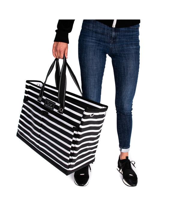 The BJ Pocket Tote Bag in Fleetwood Black