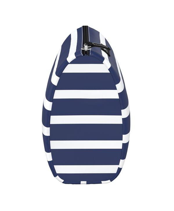 Packin' Heat Makeup Bag in Nantucket Navy