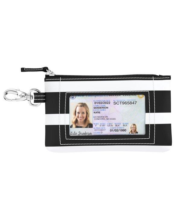 ID Kase Card Holder in Fleetwood Black
