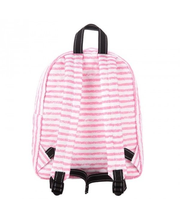 Quilted Backstory Mini Backpack in Pillow Chalk