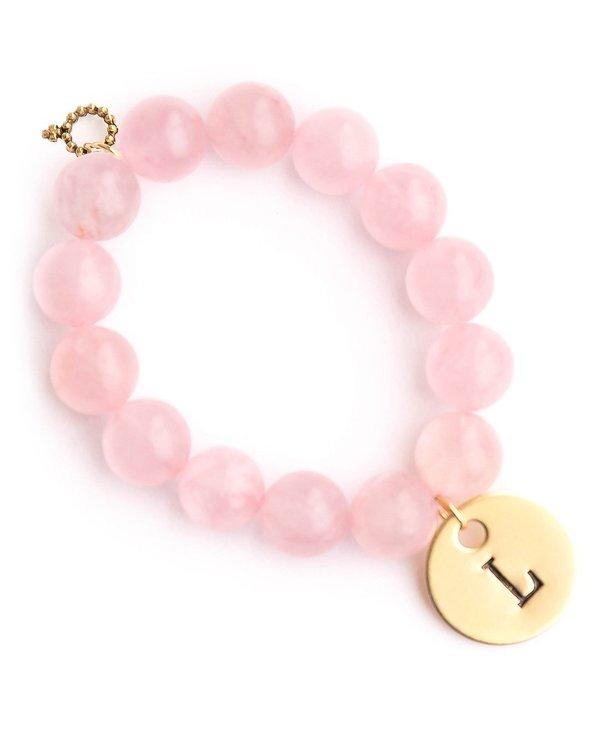 Initial L Bracelet