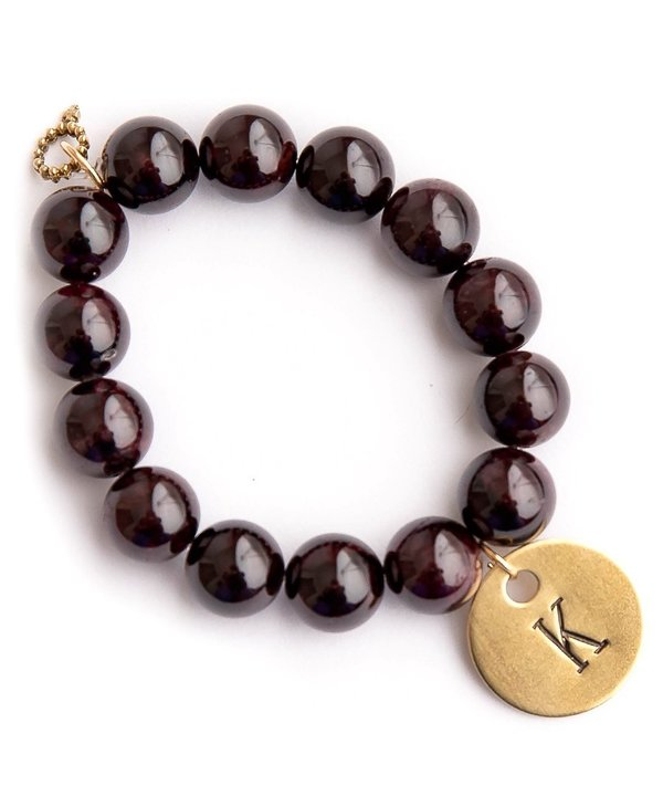 Initial K Bracelet