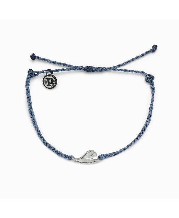 Mother of Pearl Wave Charm Bracelet