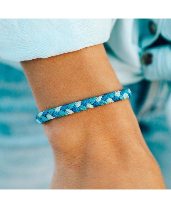 Out Of The Blue Multi Braided Bracelet