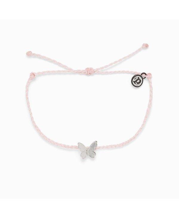 Butterfly in Flight Charm Bracelet
