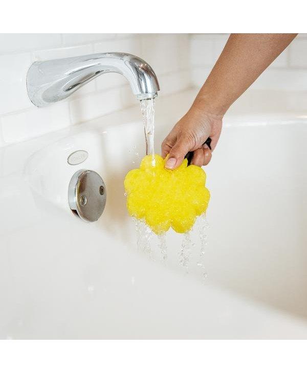 Papaya Yuzu Wildflower Bath Sponge
