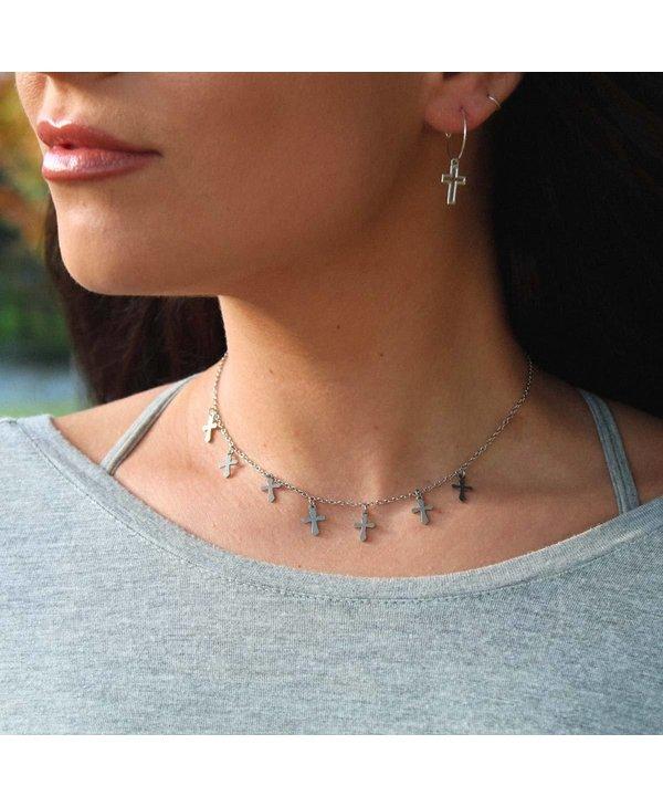 Walk By Faith Choker Necklace