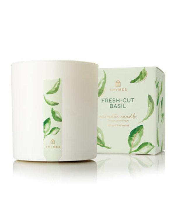 Fresh-Cut Basil Poured Candle