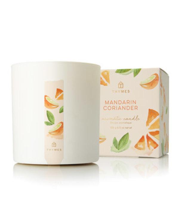 Mandarin Coriander Poured Candle