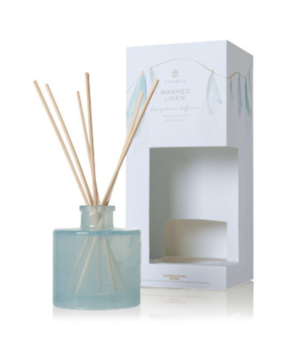 Washed Linen Petite Reed Diffuser