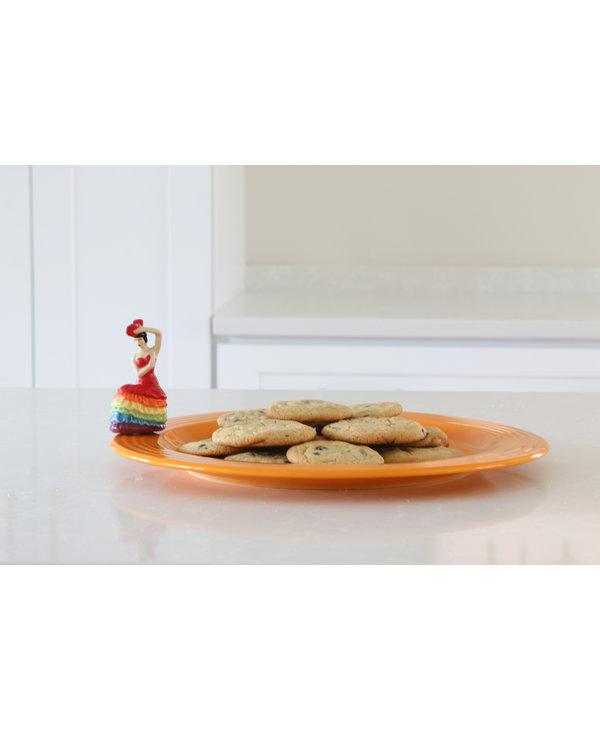 Fiesta Platter & Dancing Lady Mini Set