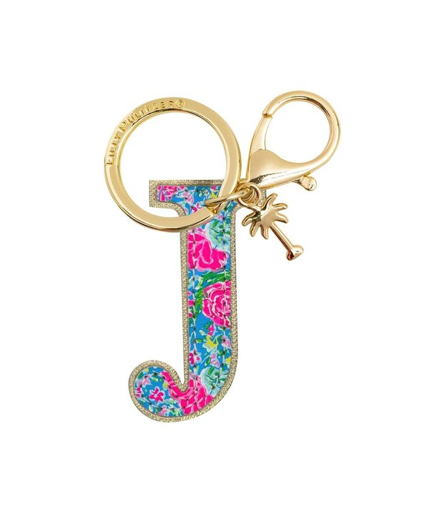 Initial Keychain, Letter J