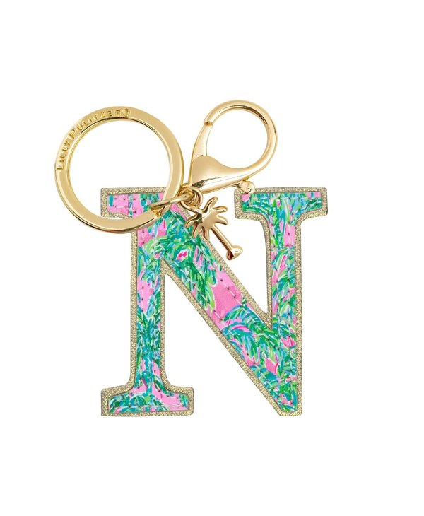 Initial Keychain, Letter N