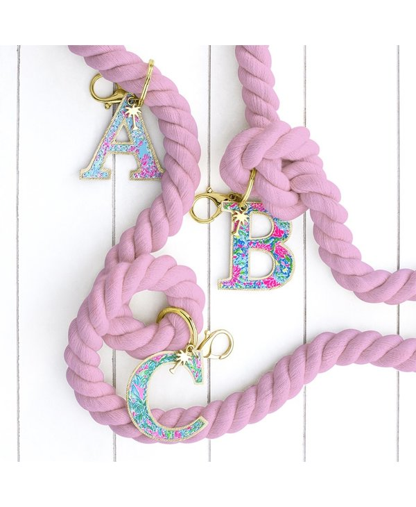 Initial Keychain, Letter S