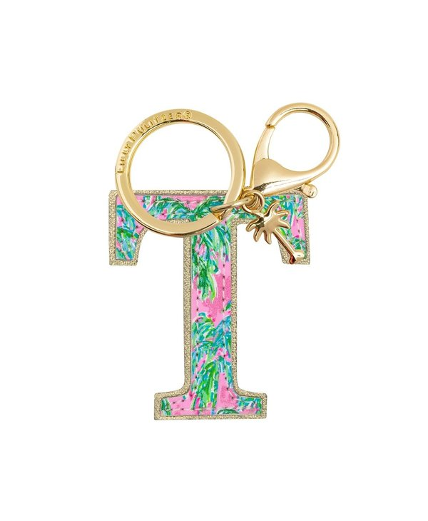 Initial Keychain, Letter T