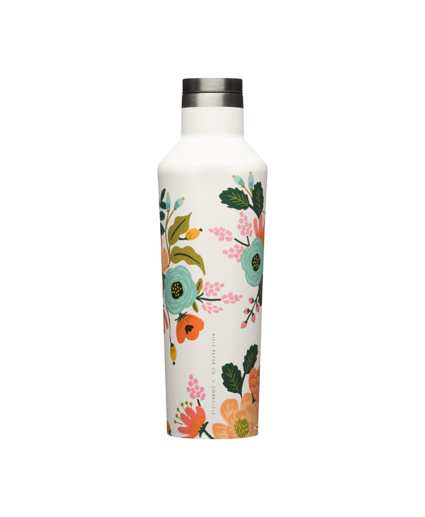16oz Canteen in Lively Floral Cream