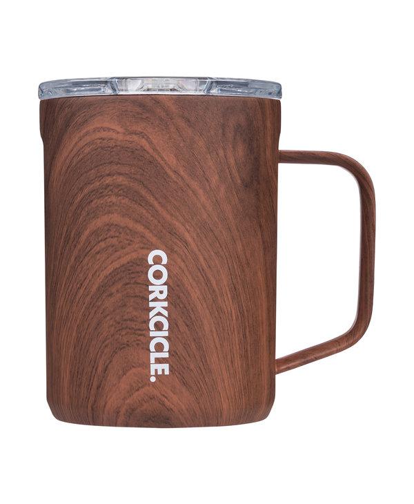 16oz Coffee Mug in Walnut Wood