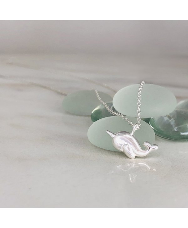 Be Different Narwhal Necklace - Tiny Shine