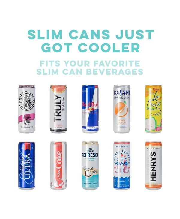 12oz Skinny Can Cooler in Hawaiian Punch