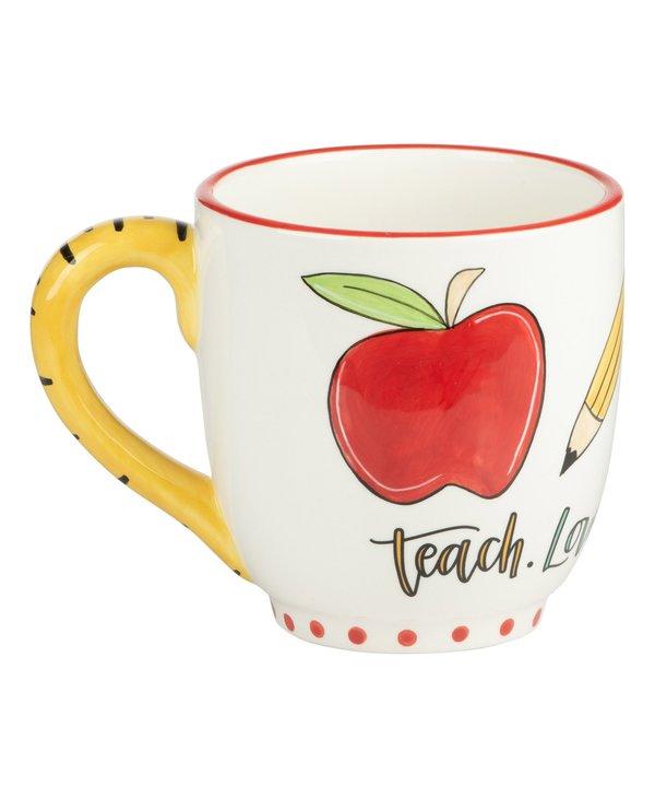 """Teach, Love, Inspire"" Mug"