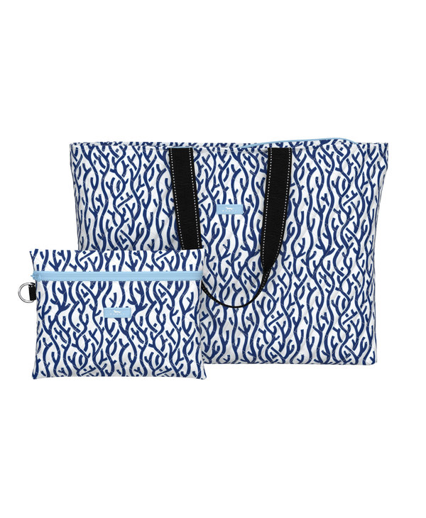 Plus 1 Foldable Travel Bag in Cays Of Our Lives