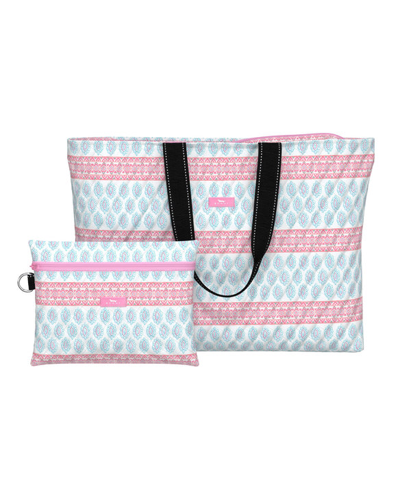 Plus 1 Foldable Travel Bag in Alexis Rose