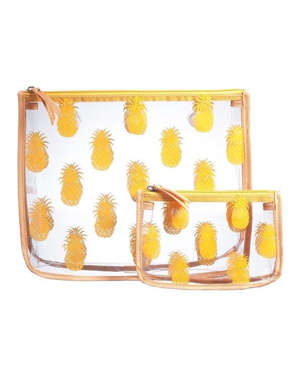 Pineapple Decorative Insert Bags (Set of 2)