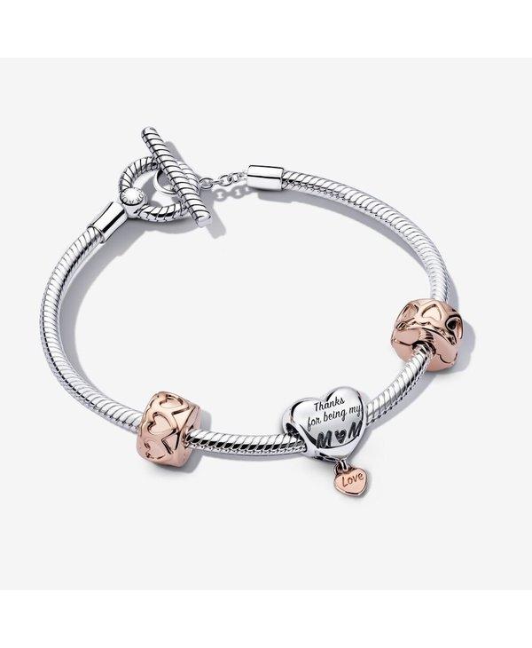 Mom's Love Bracelet Gift Set