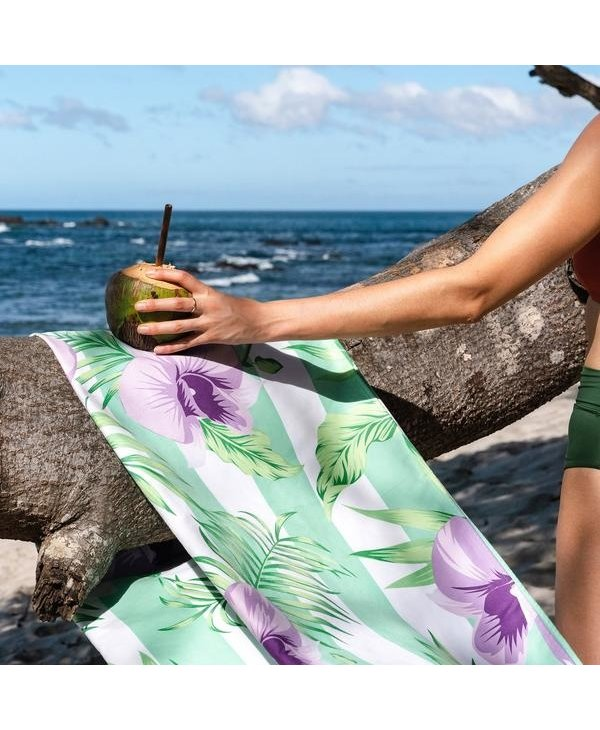 Botanical XL Towel in Orchid Utopia