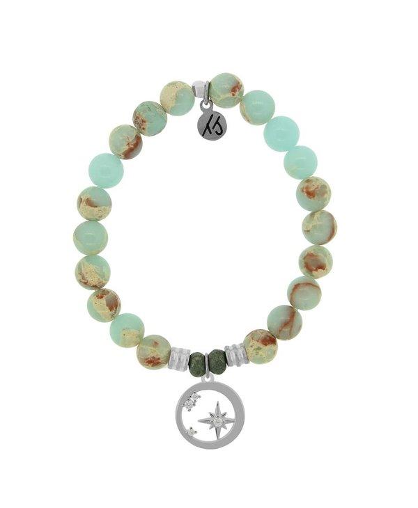 What Is Meant To Be Bracelet in Desert Jasper & Silver