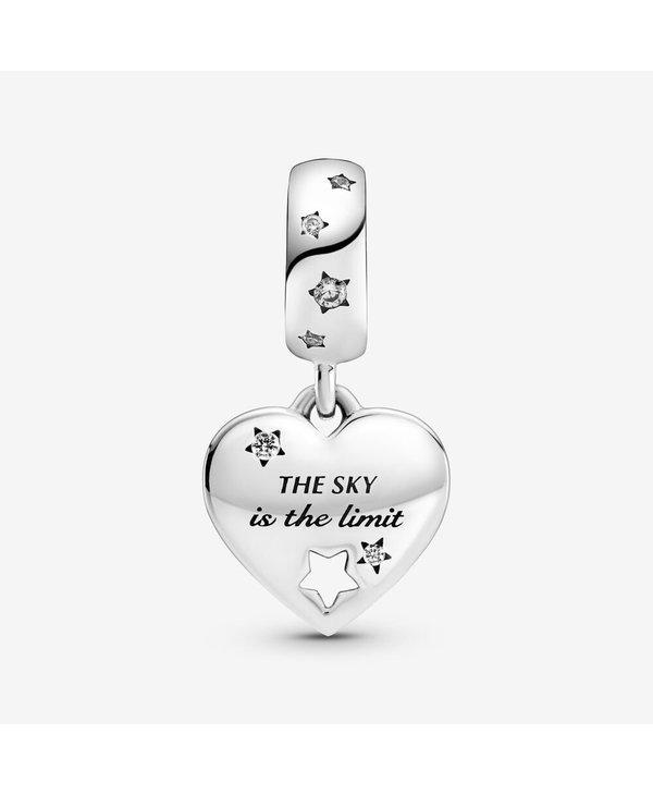Congratulations Heart & Stars Dangle Charm