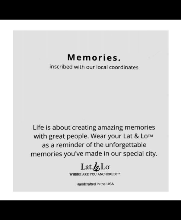Memories Bar Necklace - Penn State