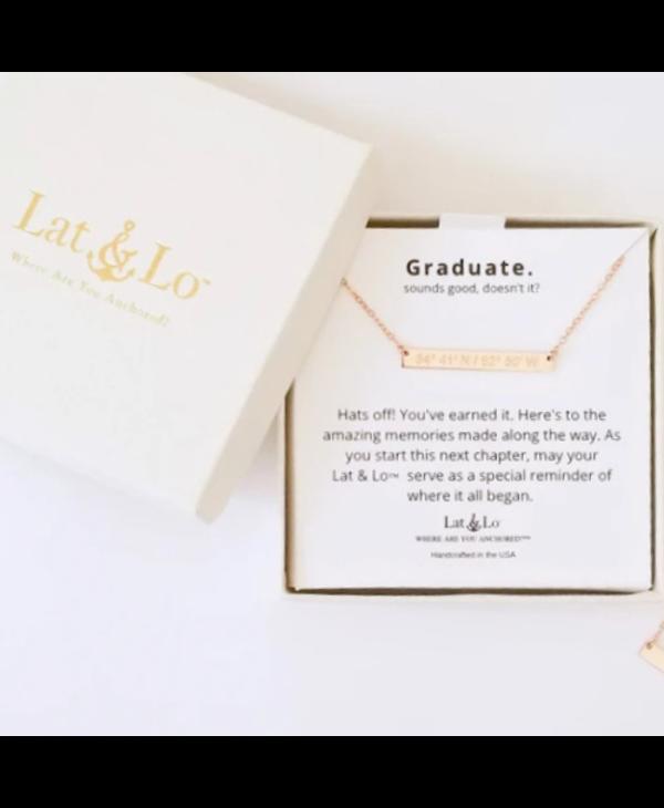The Graduate Bar Necklace - Springford