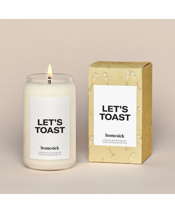 Let's Toast Candle