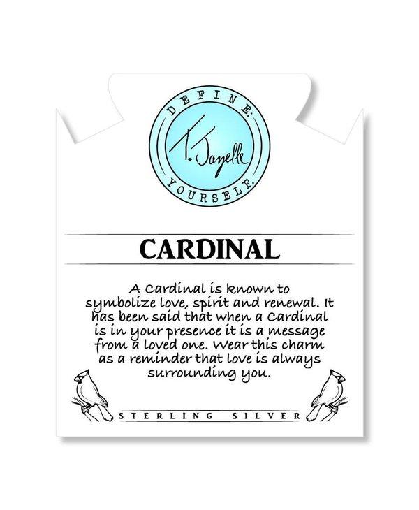 Cardinal Bracelet in White Pearl & Silver