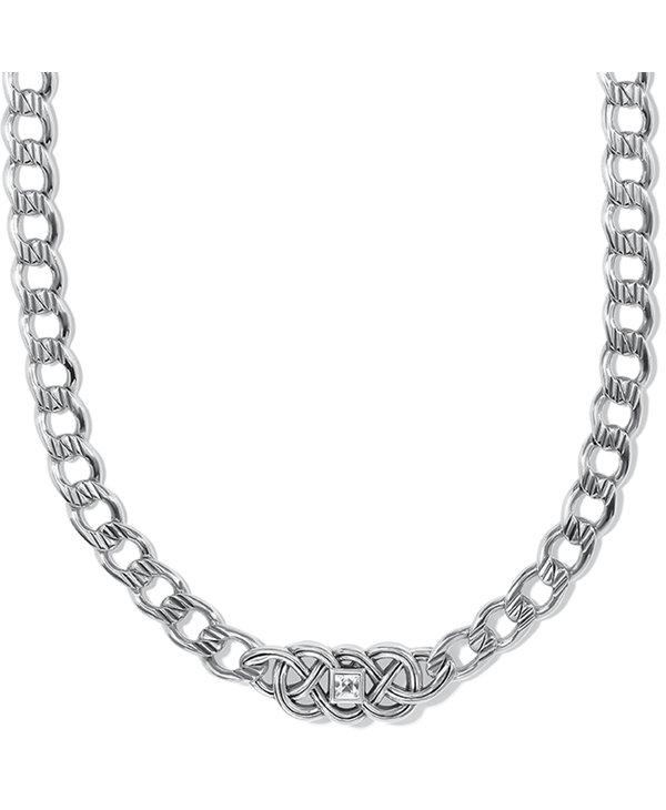 Interlok Lustre Collar Necklace