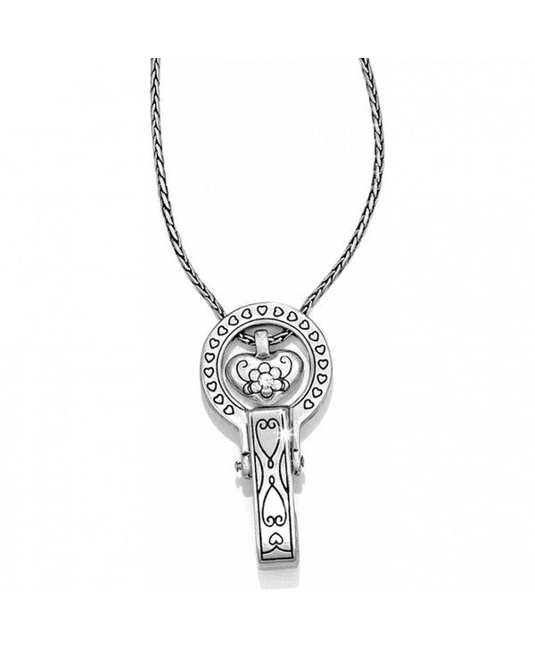 Brighton Badge Clip Necklace