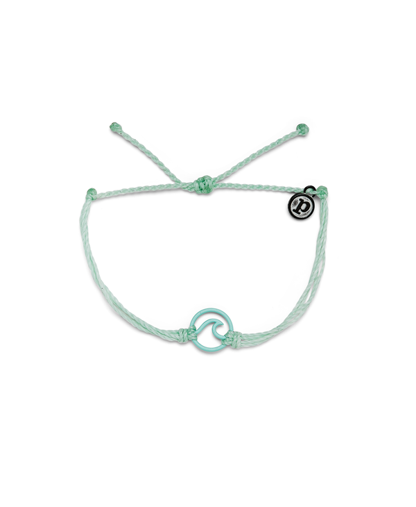 Enamel Aqua Wave Bracelet