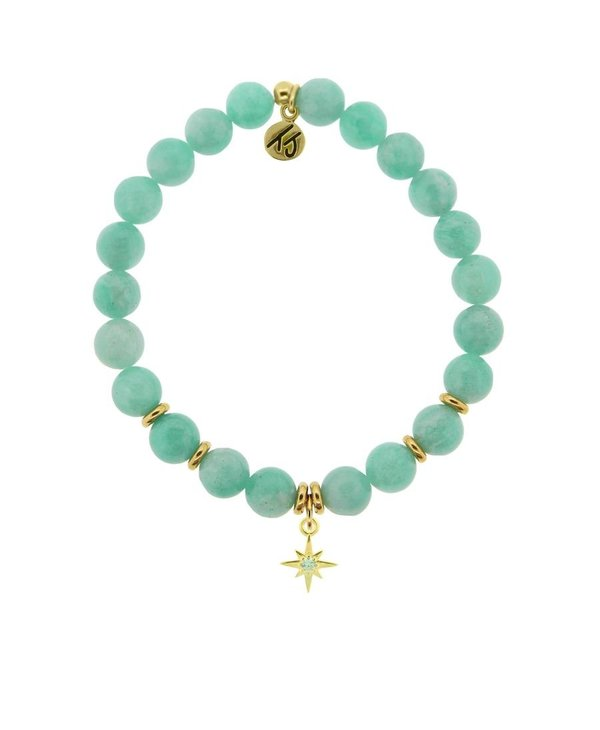 It's Your Year Bracelet in Peruvian Amazonite & Gold