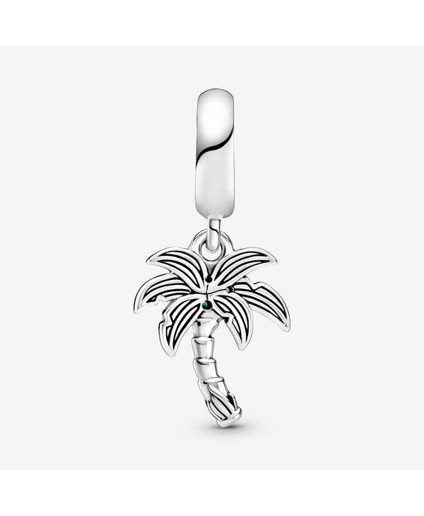 Palm Tree & Coconuts Dangle Charm
