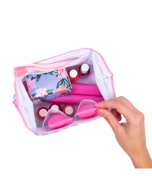 Little Big Mouth Toiletry Bag in You Grow Girl