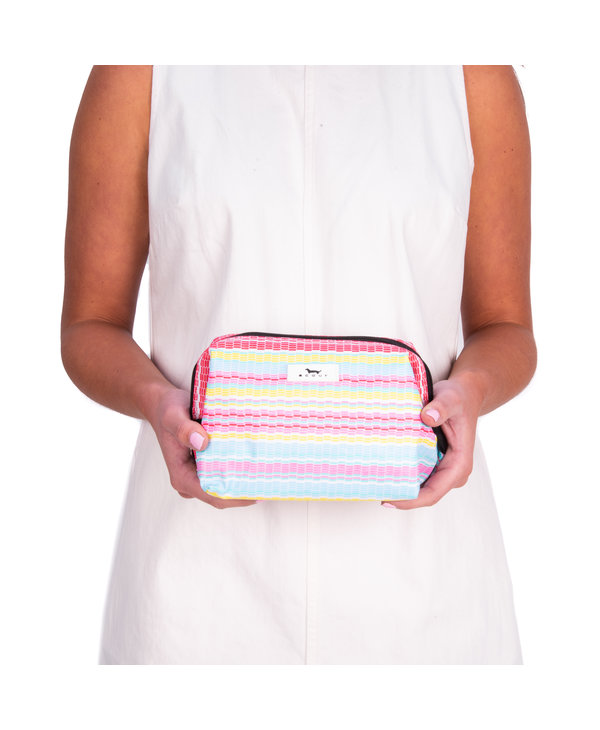 Little Big Mouth Toiletry Bag in Good Vibrations