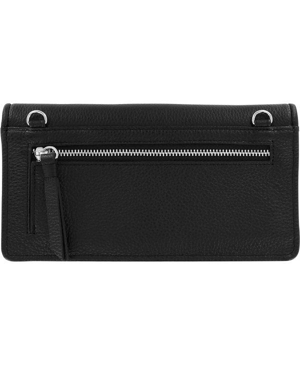 Ferrara Large Wallet in Black