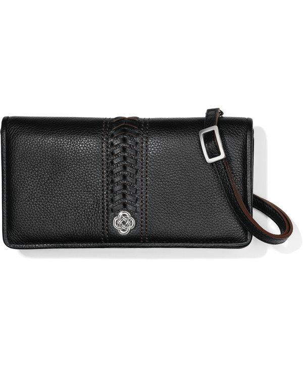 Interlok Large Wallet in Black