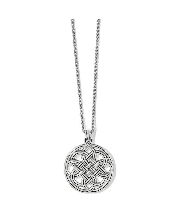 Interlok Medallion Necklace