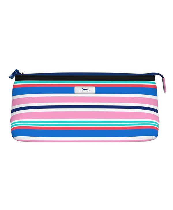 Tight Lipped Makeup Bag in Awn The Beach