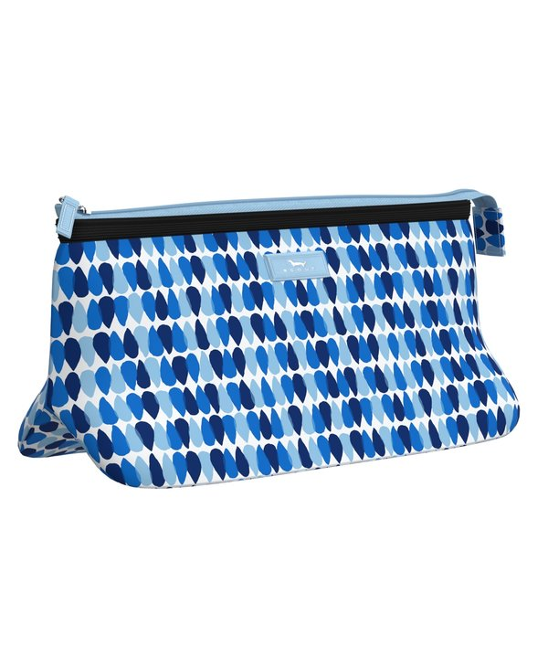 Tight Lipped Makeup Bag in Sea Spray