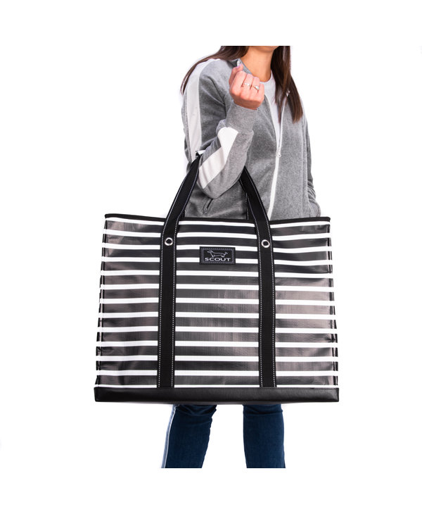 3 Girls Extra-Large Tote Bag in Fleetwood Black