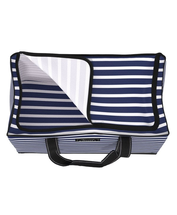3 Girls Extra-Large Tote Bag in Nantucket Navy