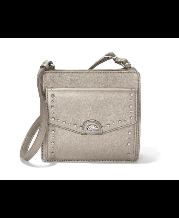 Ryder Messenger Bag in Zinc Pearl